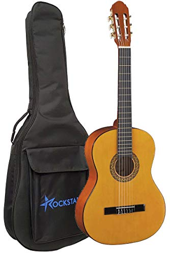 Guitarra Clásica Española Romanza mod Primera 4/4 con Funda calidad y precio - Rockmusic España