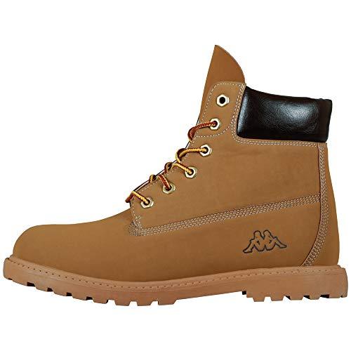 KappaKOMBO MID Footwear unisex - Zapatillas Unisex adulto, Beige (4150 beige/brown), 42 EU (8 Erwachsene UK)