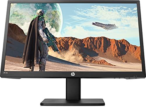 HP 22x - Monitor Gaming de 22 ' FullHD (1920 x 1080, TN, HDMI, VGA, 1 ms, 144 Hz, AMD FreeSync, altavoces integrados, ajuste pantalla) negro