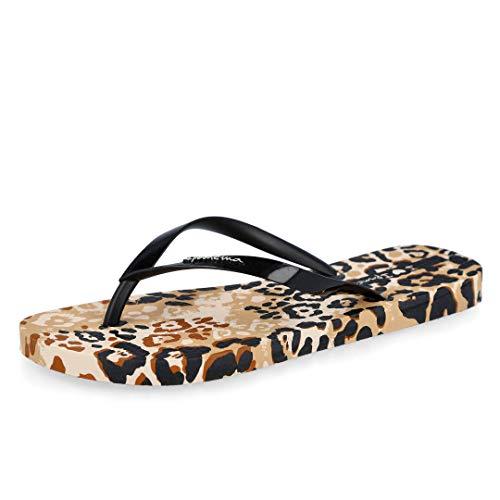 Ipanema I Love Safari Fem, Chanclas Mujer, Beige Black, 39 EU