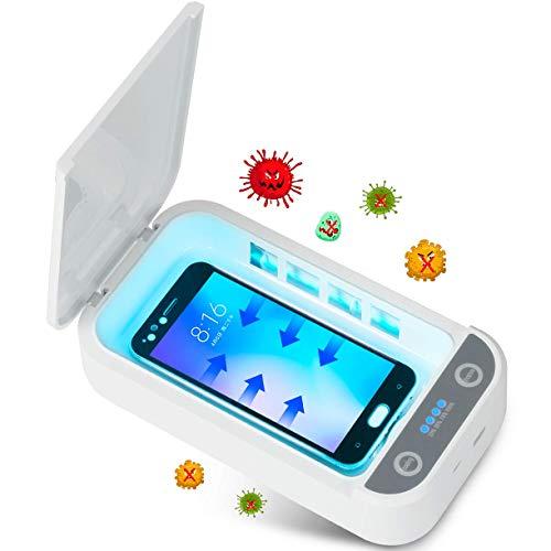 Tooklanet Esterilizador UV para Celular Caja de Desinfección Ultravioleta Portátil Esterilización para Objetos, Relojes y Gafas