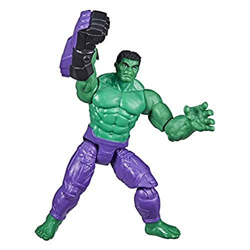 Hasbro Marvel Avengers - Figura Mech Strike de Hulk de 15 cm con Accesorio Mech de Batalla - para niños de 4 años en adelante