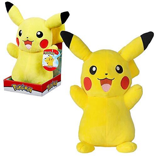 PoKéMoN Selección Premium Figuras de Felpa Caja de Regalo   27-30 cm, Felpa:Pikachu