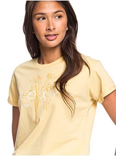 Roxy Epic Afternoon - Camiseta para Mujer Camiseta, Mujer, Sahara Sun, M