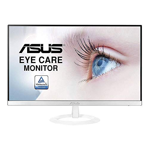 ASUS VZ249HE-W - Monitor fino de 23.8' Full HD (1920x1080, IPS, LED, 5 ms, HDMI, Eye care, antiparpadeo) Blanco