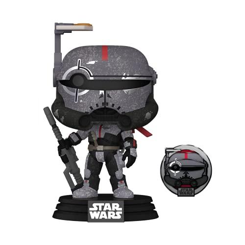 Funko 55495 POP Star Wars: Across The Galaxy - Crosshair (Kamino) - Amazon Exclusive