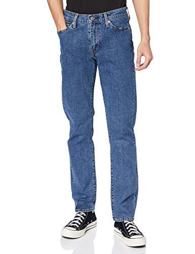 Levi's 514 Straight Jeans Vaqueros, Stonewash Stretch T2, 36W / 34L para Hombre