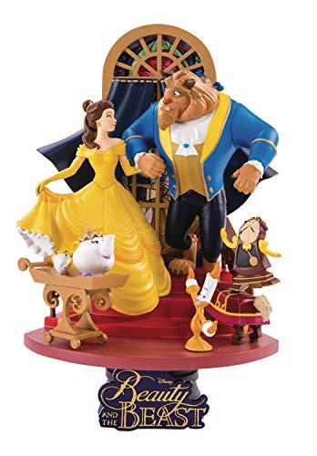 Beast Kingdom - Disney Diorama La Bella Y La Bestia, Multicolor (Beast Kingdom MAY189045)