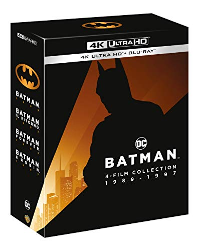 Batman Anthology 4 Film Collection (4K Ultra Hd + Blu-Ray) [Italia] [Blu-ray]