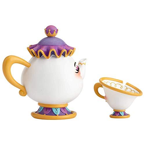 Disney by Miss Mindy, Figura de Mrs Pott y Chip de 'La Bella y La Bestia', Enesco