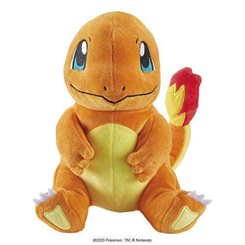 Pokemon Charmander #2-Peluche de 20,32 cm, Color True Red (WCT 97963)