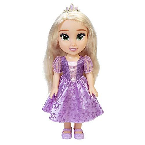 Princesas Disney, Mi Amiga Rapunzel, Muñeca Grande (35 cm)