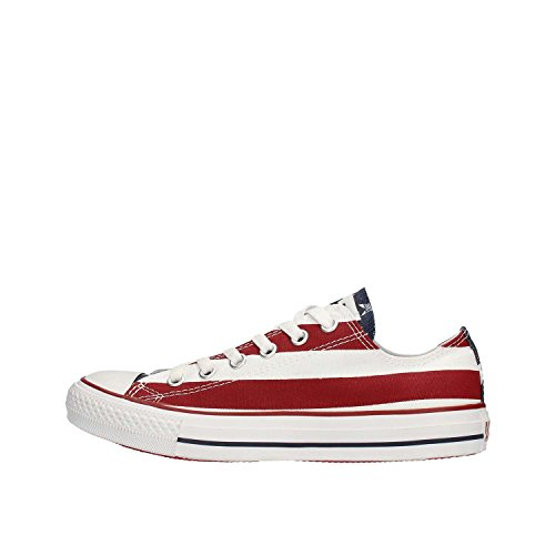 All Star CT Shoes Hombre Mujer Bandera Ame'rica Lienzo M3494