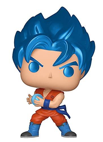 FUNKO POP! 37691 Bola de dragón Super - SSGSS Goku Kamehameha - Figura de vinilo, diseño metalizado