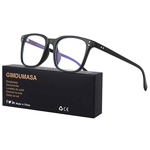 Gimdumasa gafas ordenador gaming pc uv luz filtro proteccion azul mujer hombre para antifatiga GI799