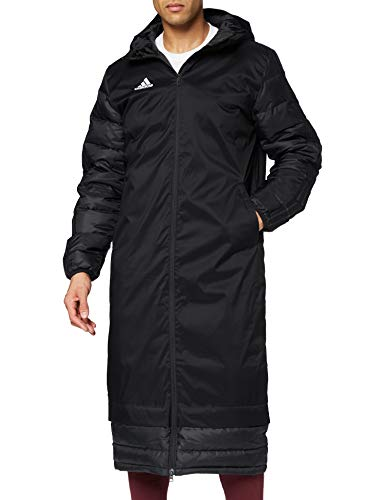 adidas JKT18 WINT Coat Chaqueta de Deporte, Hombre, Black/White, M