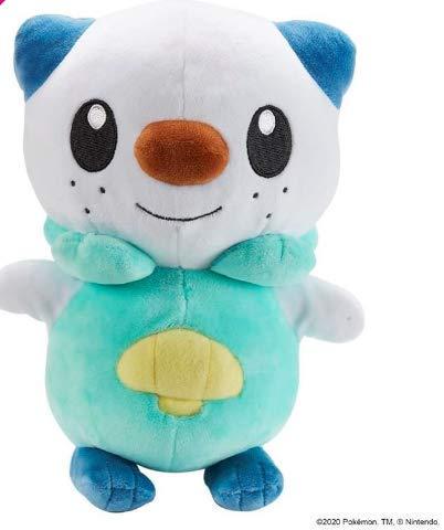 Pokemon BO38245, Ottaro-Figuras de Peluche (20 cm), diseño, Suave y Realista para abrazar y Jugar, Multicolor (Boti