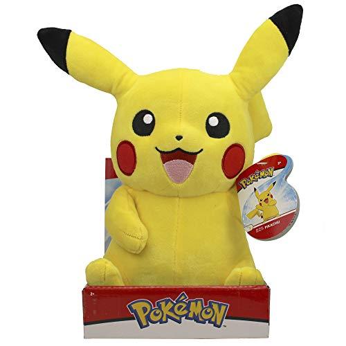 PoKéMoN Pokemon BO97879 - Peluche de Pikachu (30 cm), Realista, Supersuave, Realista, para abrazar y amar, Multicolor