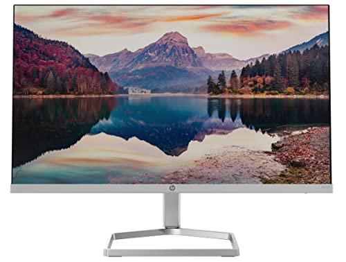 HP M22f – Monitor de 22' Full HD (1920 x 1080, 75Hz, 5ms, IPS LED, 16:9, ADM FreeSync, HDMI, VGA, Antirreflejo, Eye Ease, Inclinación Ajustable, Pasacables) Negro