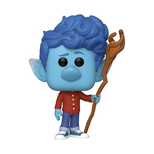Funko- Pop Disney: Onward-Ian w/Staff Collectible Toy, Multicolor, One Size (45584)