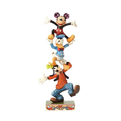 Disney, Figura de Mickey, Donals y Goofie para coleccionar, Enesco