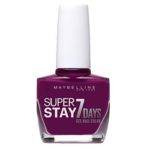 Maybelline New York - Superstay 7 Días, Esmalte de Uñas Efecto Gel, Tono 230 Berry Stain