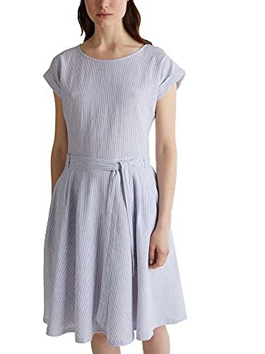 Esprit 040ee1e328 Vestido, 443/Light Blue 4, 42 para Mujer