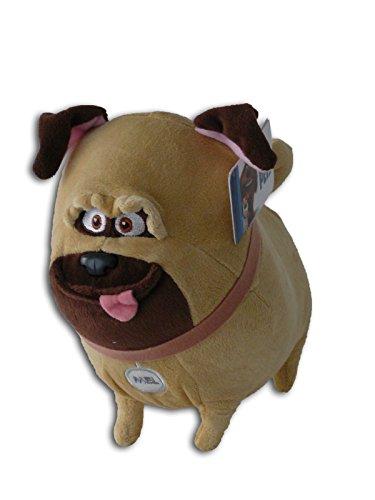 Mel 30cm Muñeco Peluche Perro Pug Bulldog Himperactivo Mascota La vida secreta de tus Mascotas Pets Max Amigo Pelicula Original Nuevo Super Suave Gran Calidad Animacion Comedia