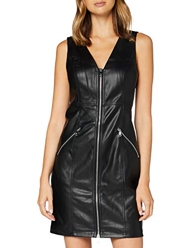 Only ONLSARAH Faux Leather Dress OTW Vestido, Negro, XL para Mujer