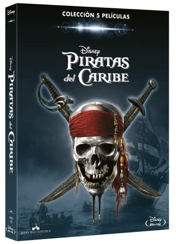 Colección Piratas del Caribe 1-5 [Blu-Ray]