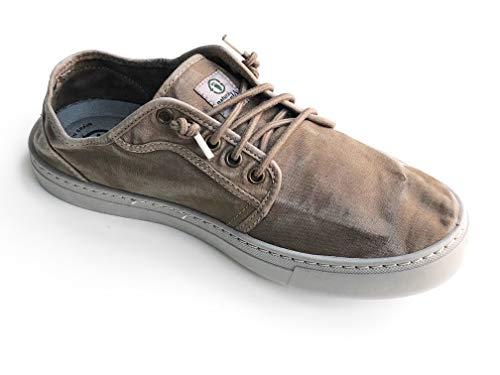 Natural World Eco - 6602E - Natural World Hombre - Zapatillas Hombre - Calzado Hombre - 100% EcoFriendly - Hecho en España (41, Marron)