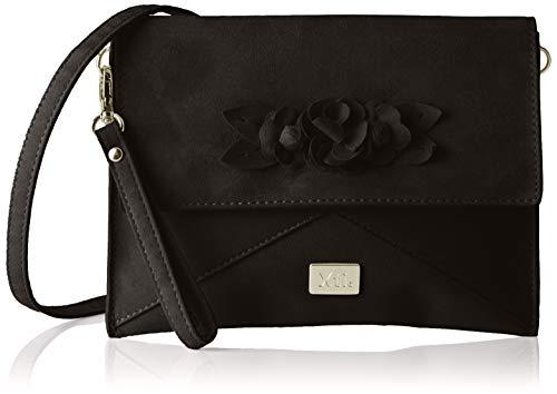 XTI 86125, Bolso de mano para Mujer, Negro (Negro), 22x22x3 cm (W x H x L)