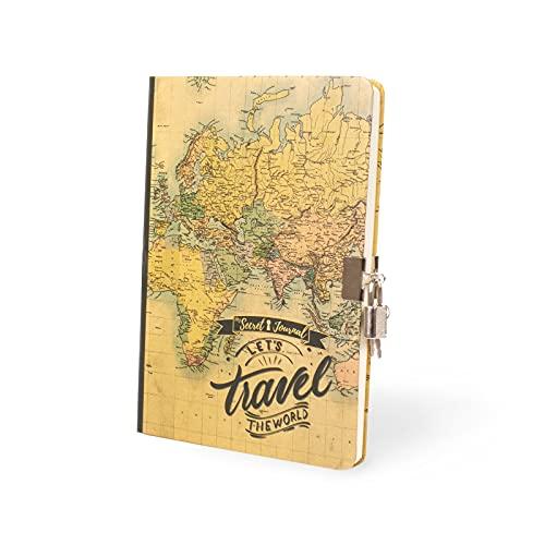 I-Total - Diario secreto de escritura | A5 (Maps)