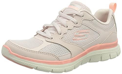 Skechers Flex Appeal 4.0, Zapatillas Mujer, Ltpk, 39 EU