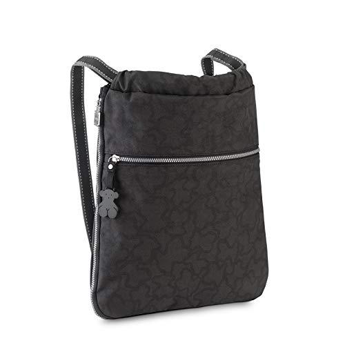Tous Caine Kaos N, Bolso mochila para Mujer, Multicolor (Antracita/Negro 295810275), 33x38x6 cm (W x H x L)