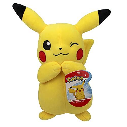 Bandai Pokémon WT95245 - Peluche de Pikachu (20 cm)