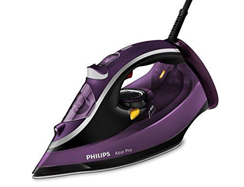 Philips Azur Pro GC4887/30 - Plancha Ropa Vapor, 3000w, Golpe Vapor 230 g, Vapor Continuo 50 g, Suela Tionic Glide, Antical Integrado, Autoapagado