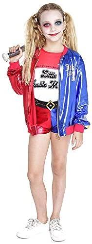 Disfraz Niña Joker's Baby Pantalón Corto Para Halloween carnaval Fiestas Infantil Niñas (10-12 años)