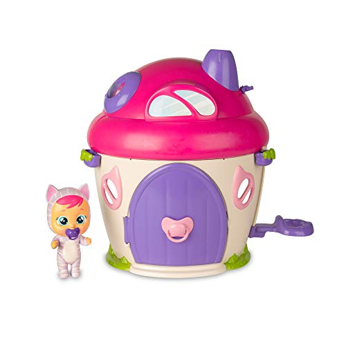 BEBÉS LLORONES LÁGRIMAS MÁGICAS La Casa de Katie - Casita mágica con música y pompa de jabón y la muñeca exclusiva Katie; Juguete para niña y niño +3 años