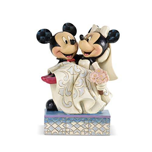 Disney Traditions, Figura de Mickey y Minnie casándose, Enesco