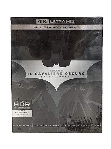 Il Cavaliere Oscuro - La Trilogia (9 4K Ultra Hd+Blu-Ray) [Italia] [Blu-ray]