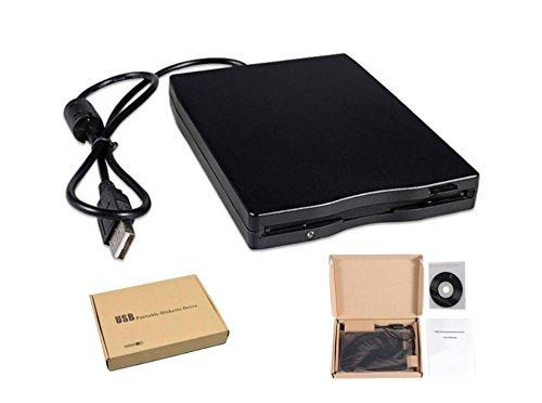 HaoYiShang 3,5 - Disquetera Externa USB 2.0 Portátil 1.44 MB Lector FDD PC Laptop