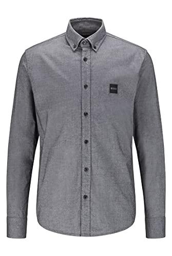 BOSS Mabsoot_1 Camisa, Negro1, XXL para Hombre