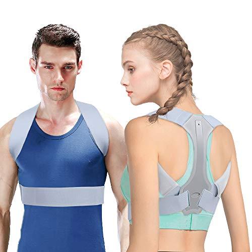 Corrector Postura HOPAI Corrector de Postura Espalda y Hombros para Hombre y Mujer Faja para Dolor de Espalda Corregir de Postura