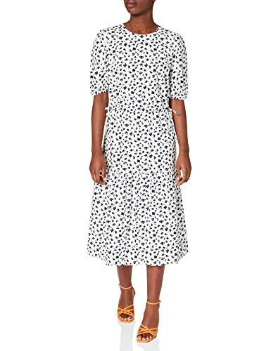 edc by Esprit 031CC1E317 Vestido, 113/Off White 4, 36 para Mujer