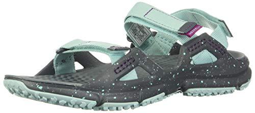 Merrell HYDROTREKKER Strap, Sandalias de Senderismo Mujer, Azul (Aqua), 36 EU