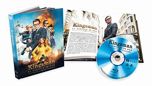 Kingsman: El Circulo De Oro Bluray Digibook [Blu-ray]