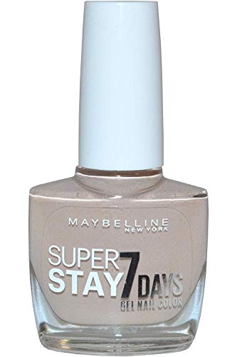 Maybelline SuperStay 7 Days 875 Second Skin 10ml Beige esmalte de uñas - Esmaltes de uñas (Beige, Second Skin, 24 mes(es), ETHYL ACETATE, BUTYL ACETATE, NITROCELLULOSE, PROPYL ACETATE, ISOPROPYL ALCOHOL, TRIBUTYL CITRATE,..., 10 ml, 20 mm)