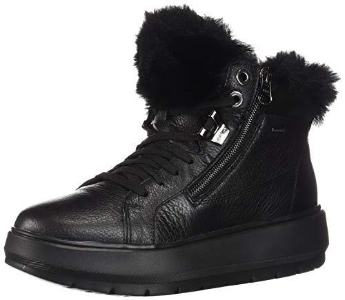 Geox D Kaula B Abx D, Bota de Nieve Mujer, Negro (Black C9999), 38 EU