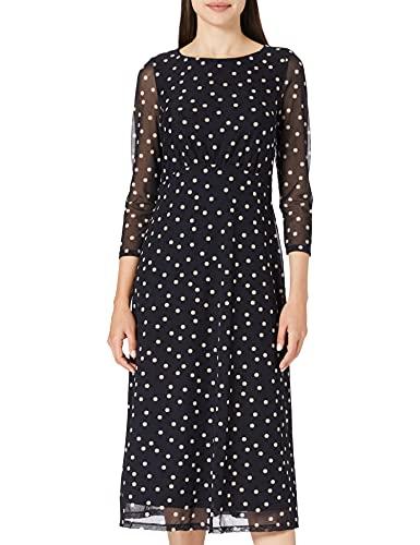 ESPRIT Collection 021EO1E335 Vestido, 403/Navy 4, S para Mujer